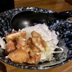 135414221 - 平日限定(岩塩ラーメン、油淋鶏丼)