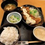 鳥元 - 鶏南蛮タルタル定食
