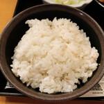 鳥元 - ご飯(麦飯)