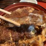 博多 ほてい屋 - 豚肉はしっかりめの食感です!