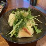 粉吉うどん - 桃サラダ~