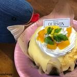 ウルソン - 料理写真:マンゴークレープ