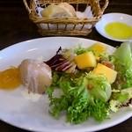 レストラン ボンジョリーナ - 白レバーのパテ