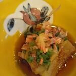 Shokusaichihiro - ●突出しに焼き茄子・美味!