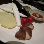 中目黒のむら - お野菜盛り合わせ
