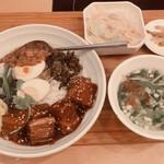 Taiwantami - 夜定食 1250円