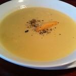 ラディッシュ - コーンスープ