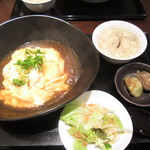 チャイナバル BIGUP! - 天津飯ランチ¥850