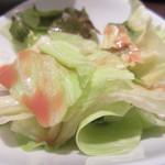 チャイナバル BIGUP! - ランチのサラダ