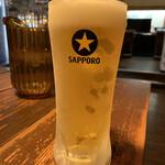 エルドラド - ドリンク写真:ビール冷え冷え(๑˃̵ᴗ˂̵)