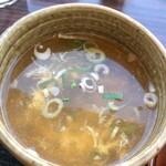 五味八珍 - スープは玉子入り