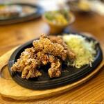 伝説のステーキ屋 - 料理写真:すたみなから揚げランチ(980円税別)
