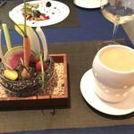 ル・モノポール - オードブル 季節野菜の菜園仕立