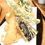 傍 - 天ぷら5品