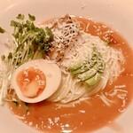 麺屋 清 - 料理写真:冷製鶏チャーシューのトマトそば