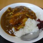 蕎麦処 高砂 - 料理写真:和風かつカレー