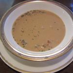 西洋料理店 エスコフィエ - スープ
