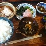 13546647 - 宇和島鯛飯定食1,000円