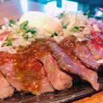 135467316 - ■国産イチボの鉄板焼きローストビーフ丼¥1,000税込