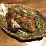 焼鳥 呑みてい - 黒豚とん足(揚げ)500円