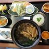 魁 - 料理写真:霧芋そば定食(温) 1575円
