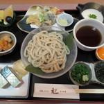 13547255 - 霧芋うどん定食(冷) 1575円