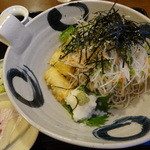 大村庵 - 料理写真:府中盛り揚げそば:980円