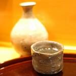 味享 - 天領 飛切り 特別純米の温燗