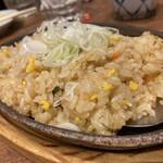 伝説の串 新時代 - 〆炒飯。