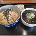 135479540 - かつ丼ミニそばセット(1100円)