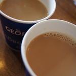 すたみな太郎 - ミルクティー&薄いコーヒー