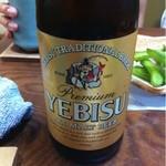 かわもと - ドリンク写真:ちょっと贅沢なビール。