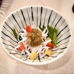 寿司処 ゑにし - つきだし シラス