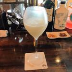 AIX - 和梨と甘糀のカクテル