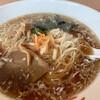狛食 - 料理写真:本日の昼得(江戸っ子ラーメン+半チャーハン)
