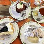 Zakku - ケーキ3点