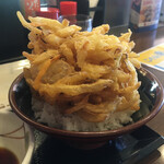 丸亀製麺 - かき揚げドーン!