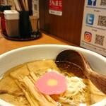 和だしらぁめん うめきち - 煮干しらぁめん ¥700*チャーシュー増し ¥200
