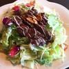 スマイルスマイル - 料理写真:ガーリックステーキサラダオムライス