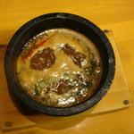 つけ麺 ぎんや - つけ麺汁@2011年