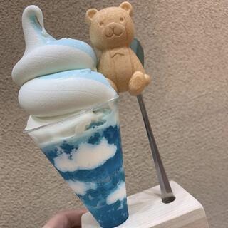 Sweets&Deco 青いクマ