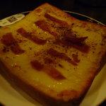 ロンドンティールーム - ☆ピザトーストサンド…ベーコン(#^.^#)☆