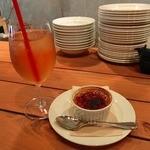 キュイジーヌ エ ヴァン アルル - やぶきた茶とクリームブリュレ