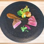 素透撫 - 料理写真:甲州ワインビーフ