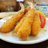 Washokudokorokojima - 料理写真:右から「エビフライ」