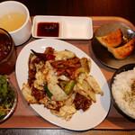 135505440 - 回鍋肉定食 880円(税別)