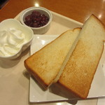 セルフリッチカフェ - 小倉トースト 350円