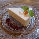 ショコラ - レアチーズケーキ