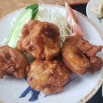 肉汁餃子のもりや - 鶏唐揚げ2020.08.23
