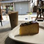 CIBI - オレンジケーキとアイスラテ